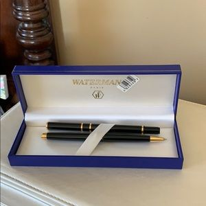 Waterman ballpoint pen and pencil in gift box